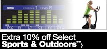 Extra 10% off Select Sports & Outdoors**