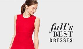 fall's BEST DRESSES