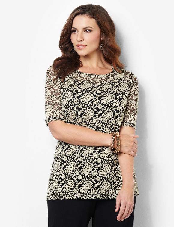 Enchanted Lace Duet Top