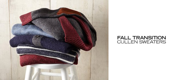 FALL TRANSITION: CULLEN SWEATERS, Event Ends October 9, 4:00 PM PT >