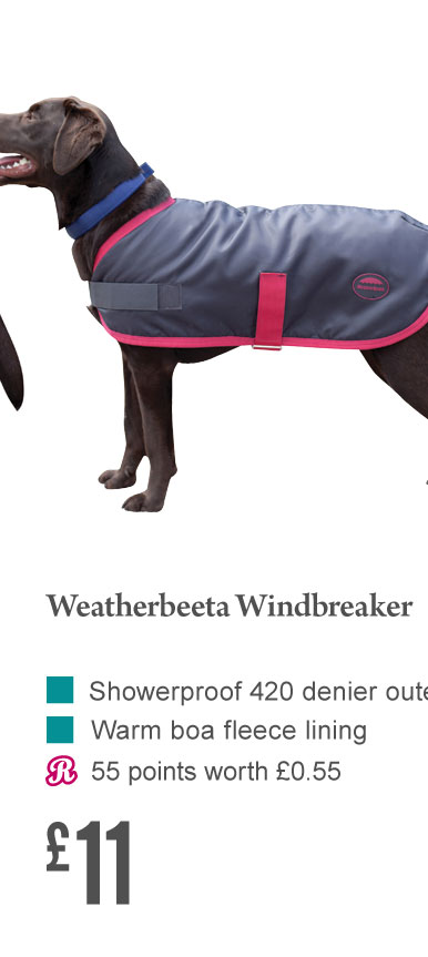 Weatherbeeta Windbreaker £11 (Earn 55 Rider Reward points)