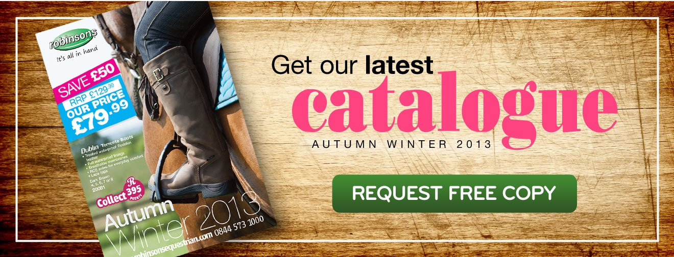 Get our latest catalogue - AW13 - Request Free Copy NOW