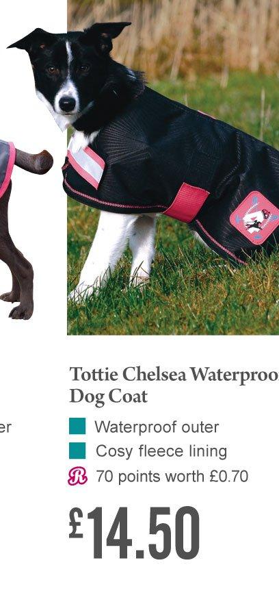 Tottie Chelsea Waterproof Dog Coat £14.50 (Earn 70 Rider Reward points)