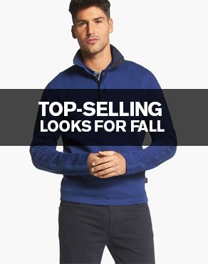 TOP-SELLING LOOKS FOR FALL