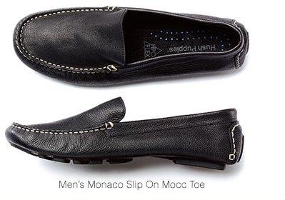 Men Monaco Slip On Mocc Toe