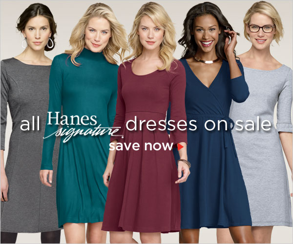 All Hanes Signature Dresses on Sale