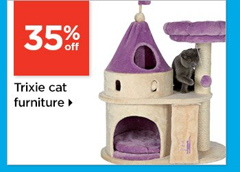 35% off Trixie cat furniture