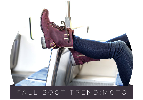 Fall Boot Trend: Moto Boots