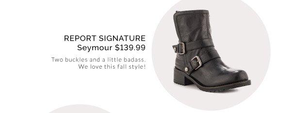 Report Signature - Seymour - $139.99
