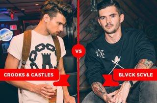 Crooks and Castles VS. BLVCK SCVLE