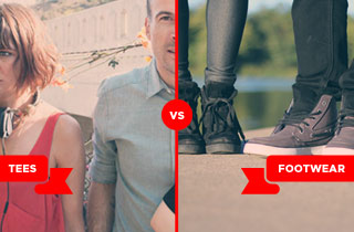 Tees VS. Footwear