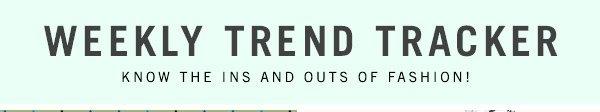 Weekly Trend Tracker