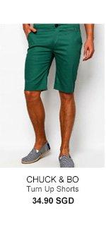 Chuck and Bo Turn Up Shorts