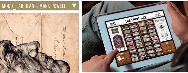 Mod Blanc: Mark Powell | The Shirt Bar App
