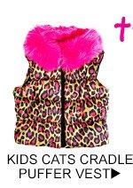 Shop Kids Cats Cradle Puffer Vest