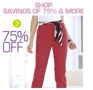 Shop Savings Of 75% & More