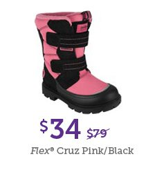 $34 Flex Cruz Black/Pink