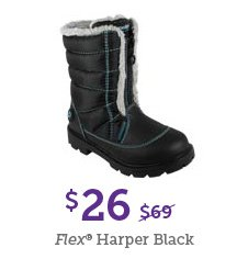 $26 Flex Harper Black