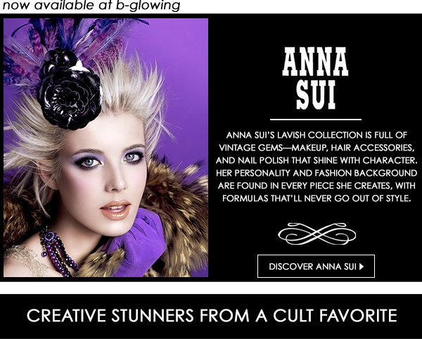 NEW Anna Sui now available at b-glowing!