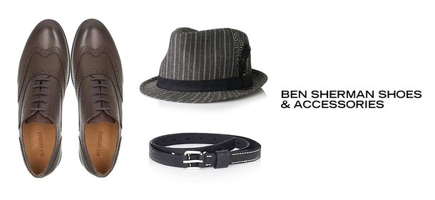BEN SHERMAN SHOES & ACCESSORIES, Event Ends October 9, 9:00 AM PT >