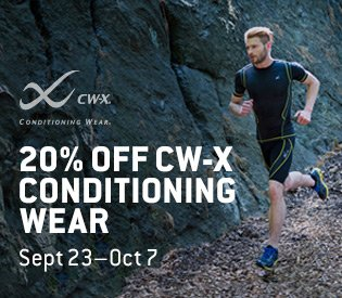 20% Off CW-X Conditioning Wear