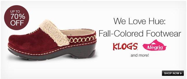 We Love Hue: Fall-Colored Footwear
