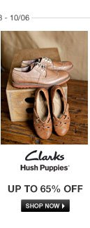 Clarks and Hush Puppies