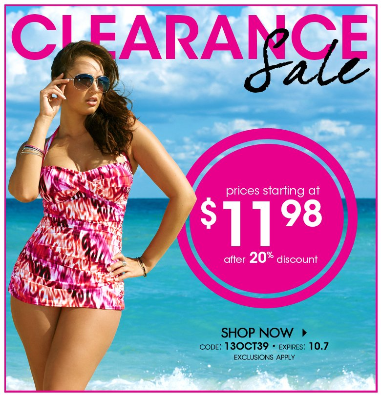 prices starting at $9.98 - use code: 13OCT25 - Exclusions Apply