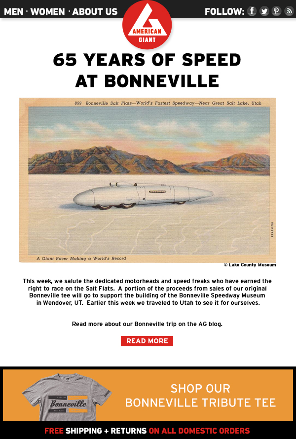 65 Years of Speed at Bonneville