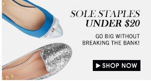 Sole staples under $20