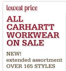 All Carhartt on Sale