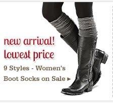Womens Boot Socks on Sale