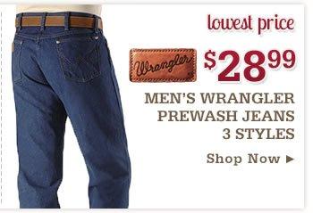 Wrangler Prewashed Jeans