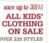 Kids Clothing on Sale