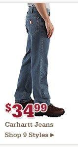 34 99 Carhartt Jeans