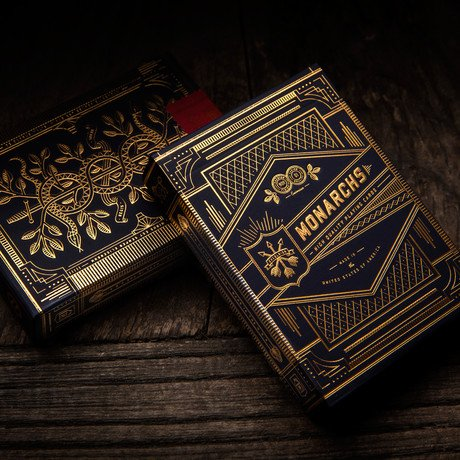 Monarch Playing Cards // 2 Deck Set