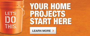 Your Home Project Bucket Starts Here.