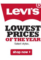 Levi's Lowest Prices of the Year. Select styles. Shop now.