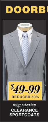 $49-99 USD - Clearance Sportcoats