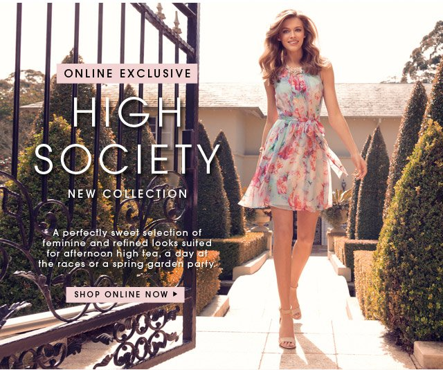 ONLINE EXCLUSIVE HIGH SOCIETY