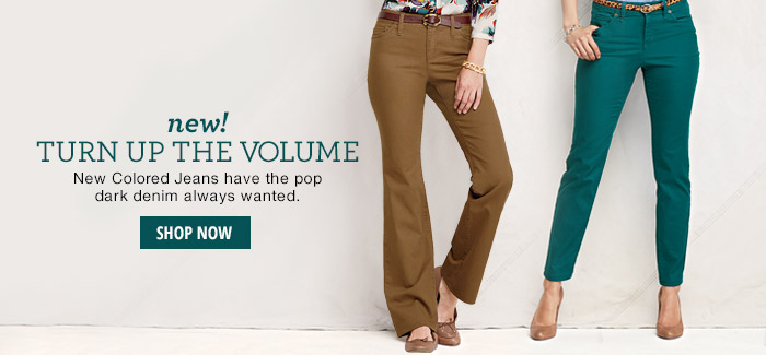 new! Colored Jeans