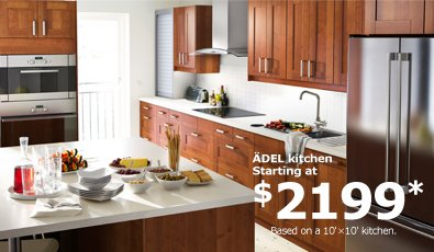 ÄDEL kitchen starting at $2199