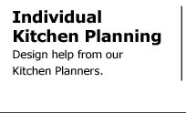 Individual Kitchen Planning - Design help from our Kitchen Planners.