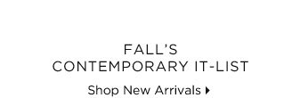 Fall's Contemporary It-List