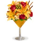 Same-Day Delivery Add a little flavor to their day with our Martini Bouquet™ Pumpkin Spice, a fresh  and colorful pick for Fall!