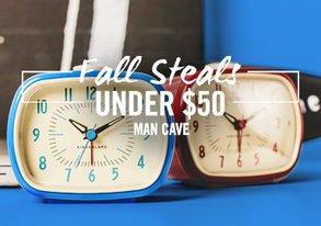 Shop Fall Steals Under $50: Man Cave Gear