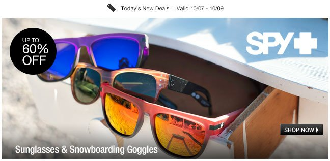 Sunglasses and Snowboarding Goggles
