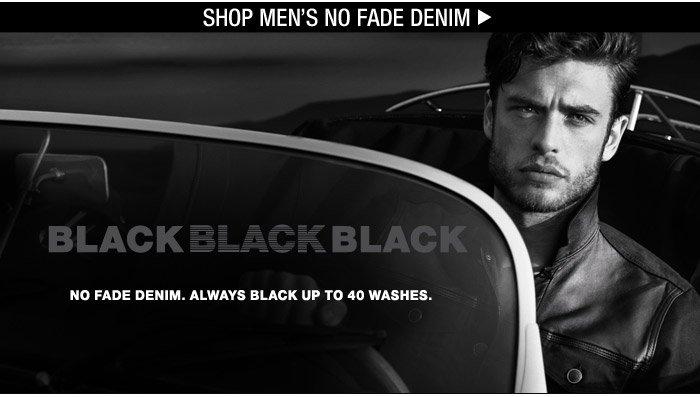 Shop Men's No Fade Denim