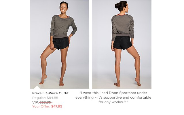 Prevail Outfit - $47.95