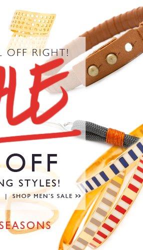 25% Off Best Selling Men's Styles!